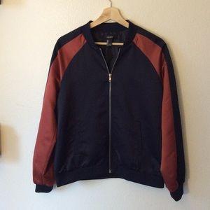 Forever 21 Bomber Zip-Up Jacket